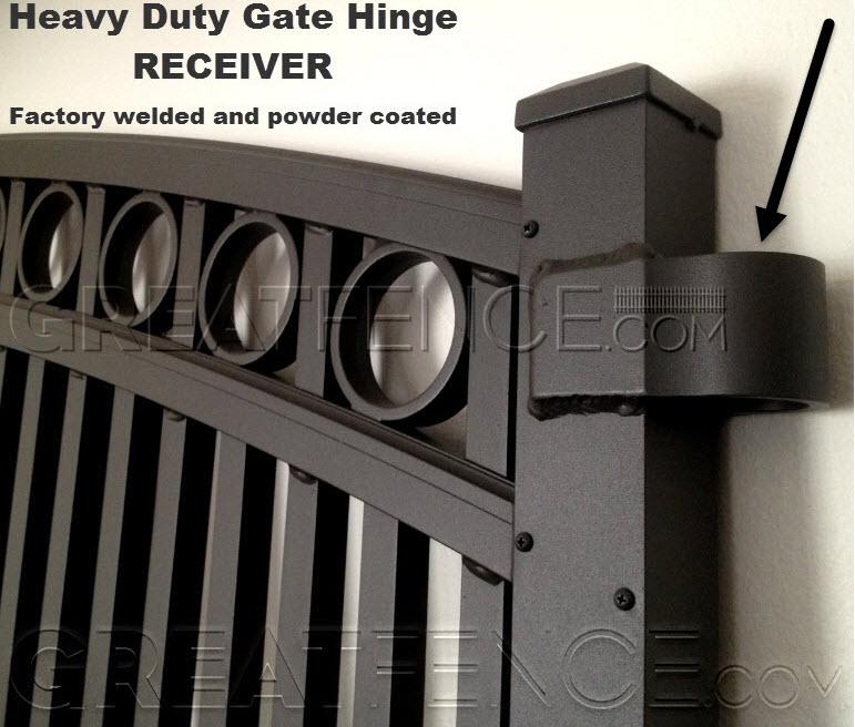 HD Hinge Receiver = Bronze