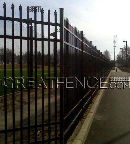Commercial Aluminum Fences