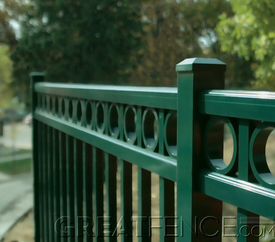 Residential Aluminum Fences